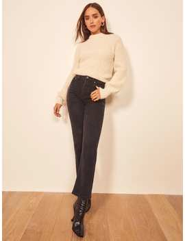 Juliet High Straight Relaxed Jean by Reformation