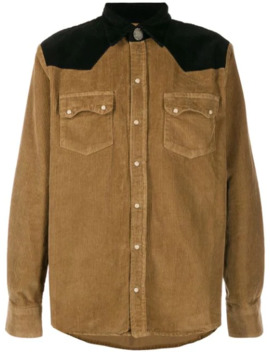 Western Style Corduroy Shirt by Family First