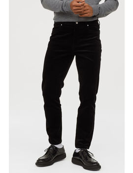 Corduroy Trousers Slim Fit by H&M
