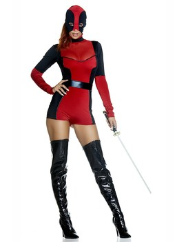 Sexy Red Hunt You Down Costume by Ami Clubwear