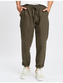 Linen Pull On Pants by Aere