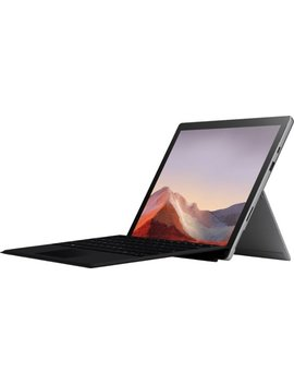 "Surface Pro 7   12.3"" Touch Screen   Intel Core I3   4 Gb Memory   128 Gb Ssd With Black Type Cover (Latest Model)   Platinum by Microsoft"