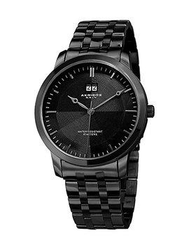 Akribos Xxiv Men's Stainless Steel Bracelet Watch by Akribos Xxiv