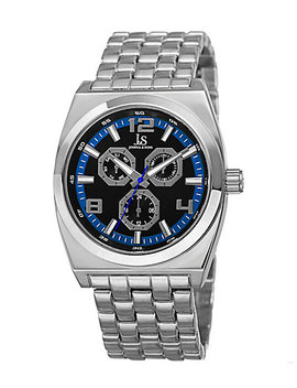 Joshua & Sons Men's Stainless Steel Watch by Joshua & Sons