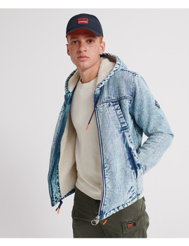 Hooded Worker Jacket by Superdry