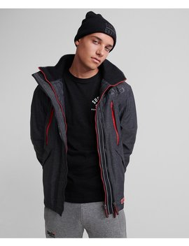 Hooded Polar Sd Windattacker Jacket by Superdry