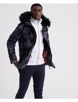 Mountain Rookie Aviator Parka Jacket by Superdry