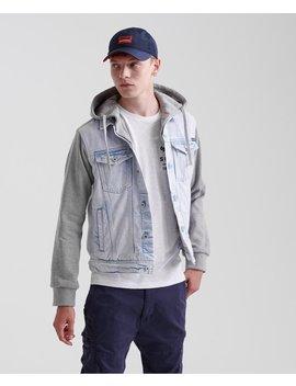 Hooded Highwayman Trucker Jacket by Superdry