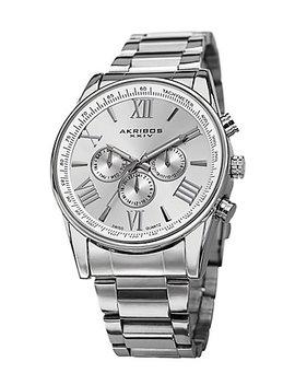Akribos Xxiv Men's Stainless Steel Watch by Akribos Xxiv