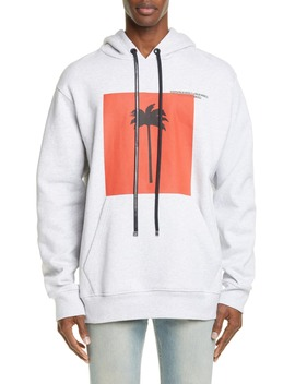 Logo Graphic Hoodie by Palm Angels