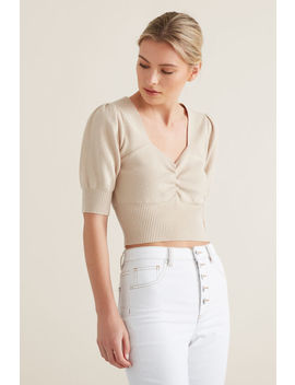 Sweetheart Knit Top by Seed Heritage