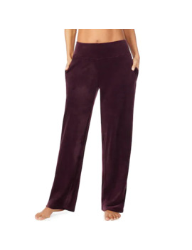 Women's Cuddl Duds Double Plush Velour Lounge Pants by Cuddl Duds