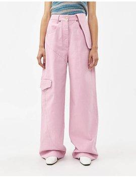 Le Jean De Nîmes Pant In Pink by Jacquemus Jacquemus
