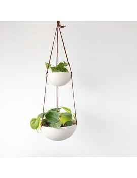 Two Tiered Hanging Planter by Etsy