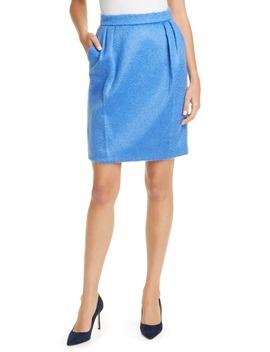 Turchia Mohair Blend Skirt by Max Mara