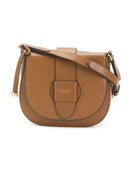 Medium Leather Foldover Crossbody by Tj Maxx