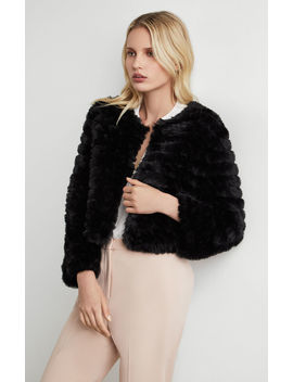 Sophiana Faux Fur Jacket by Bcbgmaxazria
