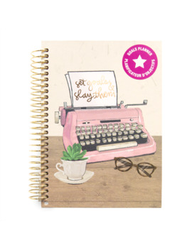 Typewriter Mini Goal Spiral Planner By Recollections™ by Michaels