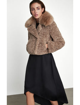 Faux Fur Collar Jacket by Bcbgmaxazria