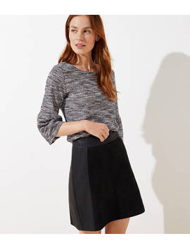 Boucle Bell Cuff Top by Loft