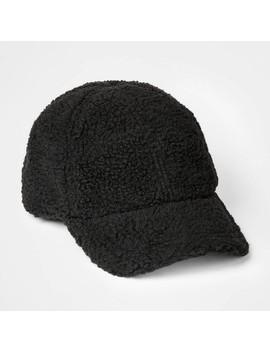 Kids' Sherpa Baseball Hat   Art Class™ Black by Art Class