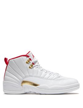 Jordan 12 Retro White / University Red by Jordan