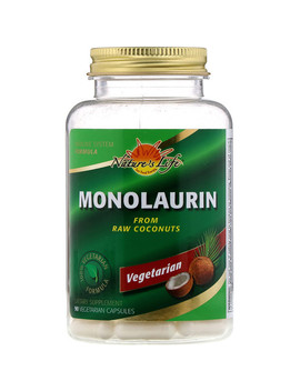 Nature's Life, Monolaurin, 90 Vegetarian Capsules by Nature's Life