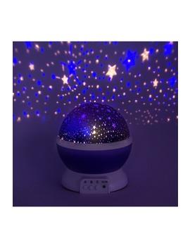 Purple Romantic Cosmos Star Sky Moon Projector by Sorbus