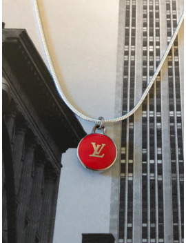Louis Vuitton Logo Pendant & Necklace by Louis Vuitton  ×