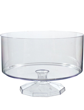 Large Clear Plastic Trifle Container by Party City