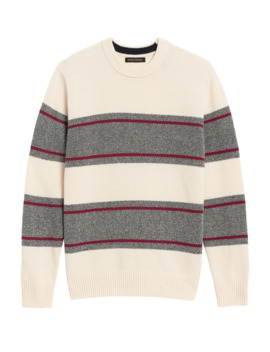 Recycled Wool Blend Sweater by Banana Repbulic