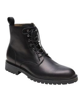 Colter Leather Lace Up Boot by Banana Repbulic
