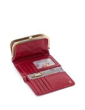 Riva Magnetic Lock Tri Fold Wallet by Hobo