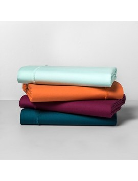 Solid Percale Cotton Sheet Set   Opalhouse™ by Shop Collections