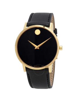Museum Classic Black Dial Men's Watch by Movado