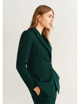 "<Font Style=""Vertical Align: Inherit;""><Font Style=""Vertical Align: Inherit;"">Structured Suit Jacket</Font></Font> by Mango"