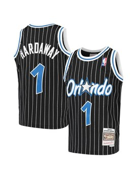 Youth Orlando Magic Penny Hardaway Mitchell & Ness Black Hardwood Classics Swingman Throwback Jersey by Nba Store