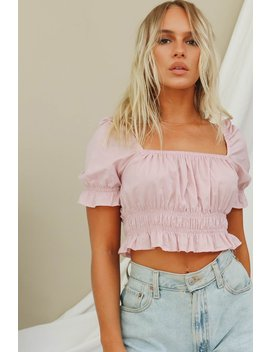 Standout Hues Frill Top // Lavender by Vergegirl