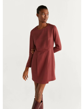 "<Font Style=""Vertical Align: Inherit;""><Font Style=""Vertical Align: Inherit;"">Textured Short Dress</Font></Font> by Mango"