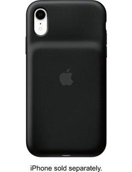 I Phone Xr Smart Battery Case   Black by Apple