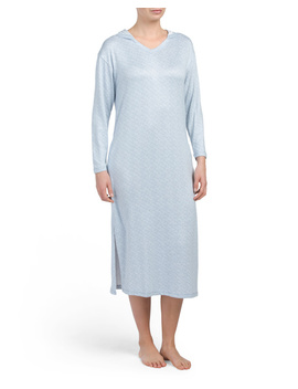 Spacedye Hooded Nightshirt by Tj Maxx