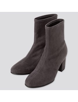 Women Stretch Short Boots (3) by Uniqlo