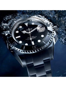 Loreo 200m Diving Automatic Watch Luminous Men Mechanical Men Watches Fashion Brand Relogio Masculino Waterproof Stainless Steel by Ali Express.Com
