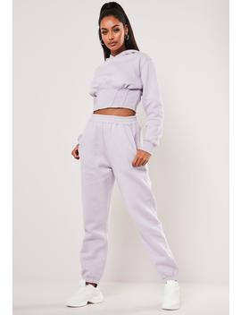 Sofia Richie X Missguided Purple Oversized 90s Joggers by Missguided