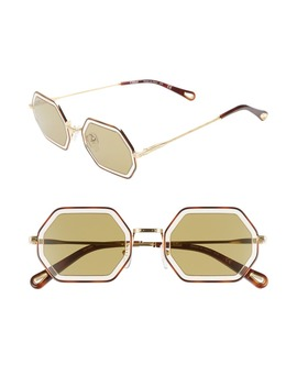 Tally 53mm Octagon Sunglasses by ChloÉ