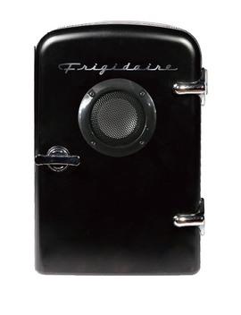 Black 6 Can Mini Fridge With Bluetooth Speaker by Frigidaire