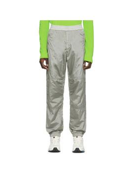 Grey Track Pants by Stone Island