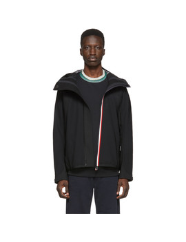 Black Maglia Zip Up Jacket by Moncler Grenoble