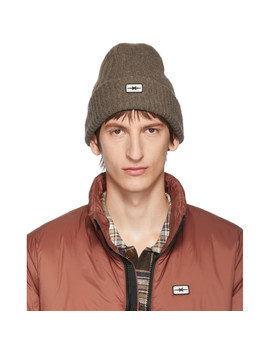 Brown Mongolian Yak Beanie by Phipps