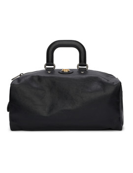 Black Weekend Backpack Duffle Bag by Gucci